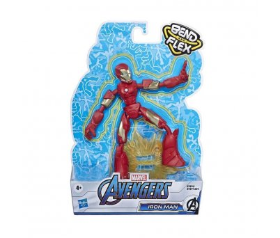 Avengers Bend And Flex Figür E7377 E7870 Iron Man