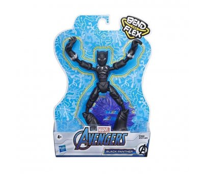 Avengers Bend And Flex Figür E7377 E7868 Black Panther