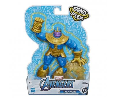 Avengers Bend And Flex Figür E7377 E8344 Thanos​​​​​​​