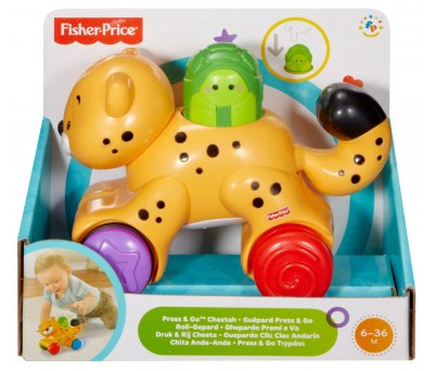 Fisher Price Press ve Go Araçlar Sevimli Çita N8162