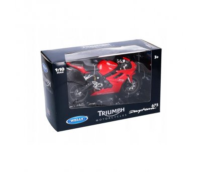 Welly 1:10 Triumph 2009 Daytona 675