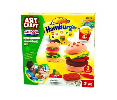 Art Craft Hamburger Set Oyun Hamuru 150 gr