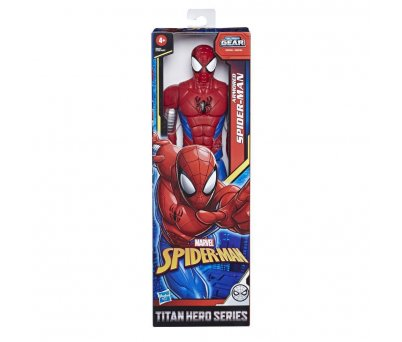 Spider-Man Titan Hero Web Warriors Spider-Man Figür E8522