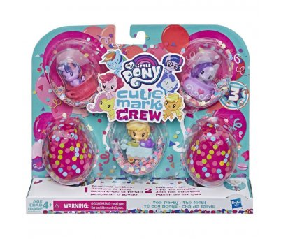 My Little Pony Cutie Mark Crew Koleksiyon Seti - Çay Partisi E3897