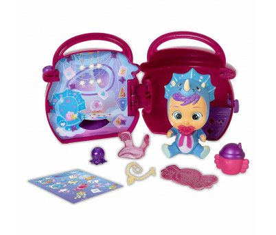 Cry Babies Magic Tears Fantasy Paci Evler Sürpriz Paket CYM02000 - Koyu Pembe