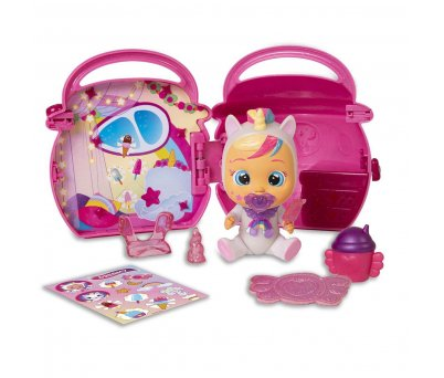 Cry Babies Magic Tears Fantasy Paci Evler Sürpriz Paket CYM02000 - Pembe