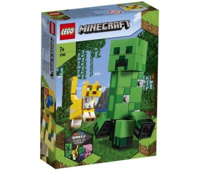 Lego Minecraft BigFig Creeper 21156