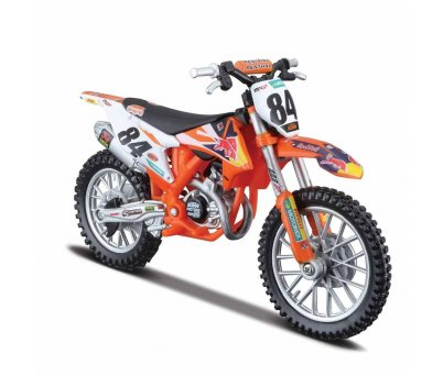 1:18 Red Bull KTM 450 Motosiklet - Ktm 450 Sx-F Factory Edition 2018