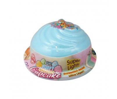 Slimy Puffy Cotton Cupcake 32260 Mavi
