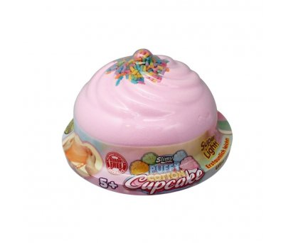 Slimy Puffy Cotton Cupcake 32260  Pembe