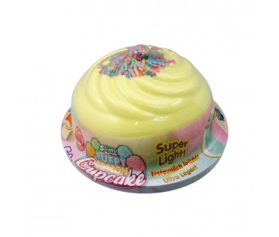 Slimy Puffy Cotton Cupcake 32260 Sarı