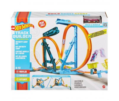 Hot Wheels Track Builder Sonsuz Çemberi Pisti  GVG10
