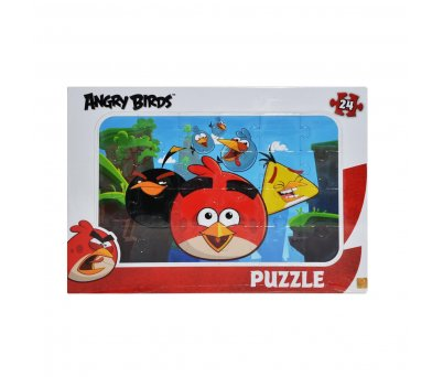 ANGRY BİRDS 24 PARÇA FRAME PUZZLE