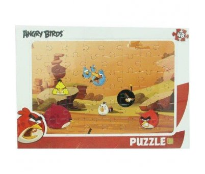 ANGRY BİRDS 48 PARÇA FRAME PUZZLE