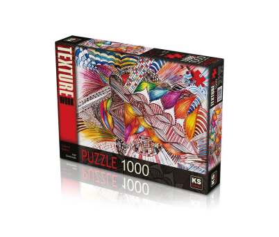 COLORFUL ABSTRACT PUZZLE 1000 PARÇA