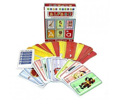 EĞİTİCİ FLASH CARDS BOOK ALFABE
