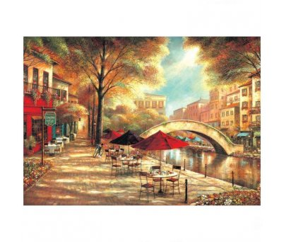 PUZZLE 500 RİVERWALK CAFE RUANE MANNİNG