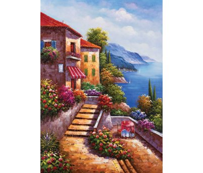 STAİRS TO HOME JİN PARK PUZZLE 1000  PARÇA